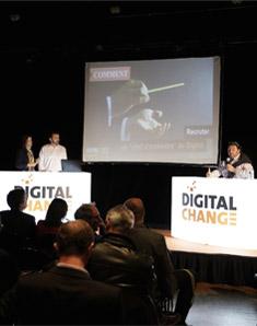 Conférence Digital Change à Nantes en 2016